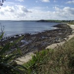 Castle Beach Falmouth Cornwall