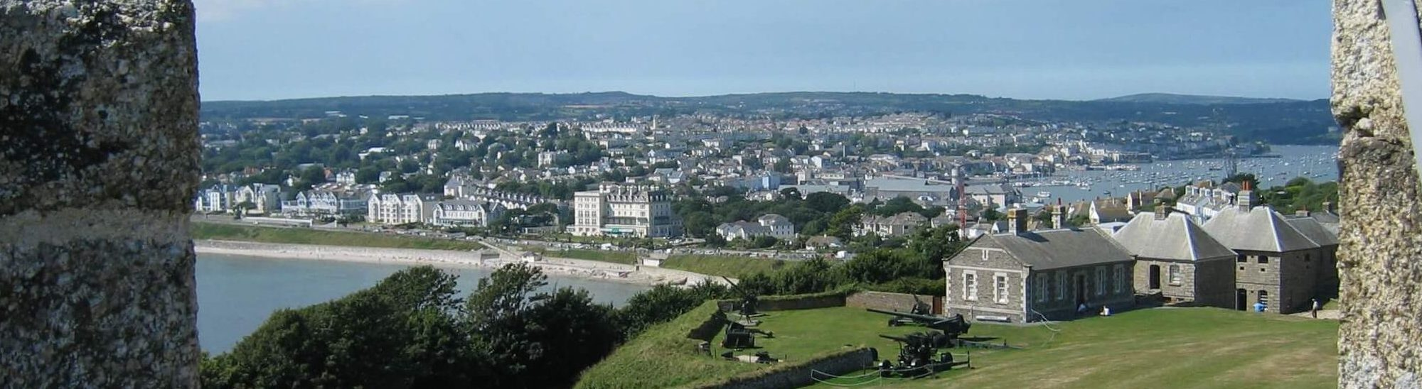 Falmouth from Pendennis