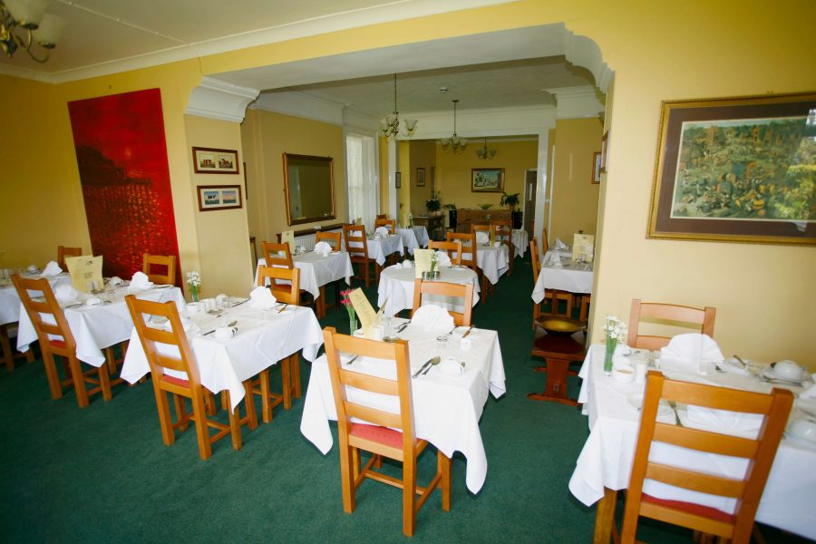 Gyllyngvase House Dining Room