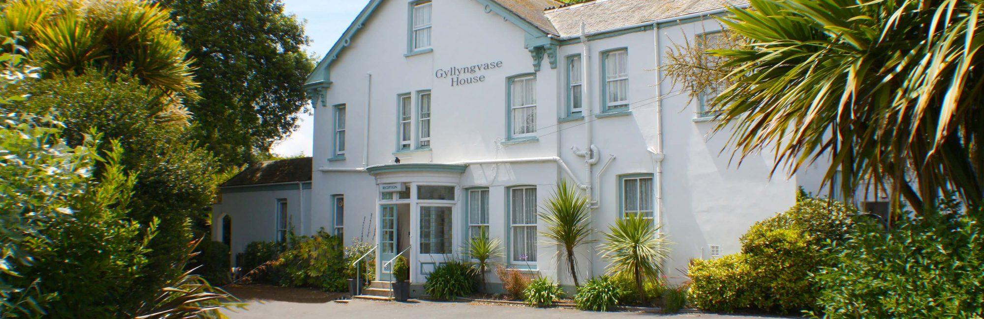 Gyllyngvase House Front