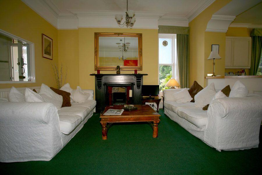 Gyllyngvase House Sitting Room