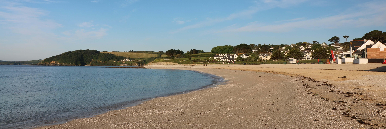 Gyllyngvase Beach in July