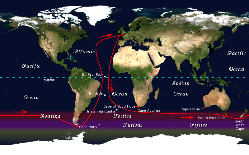 Golden Globe Race Route